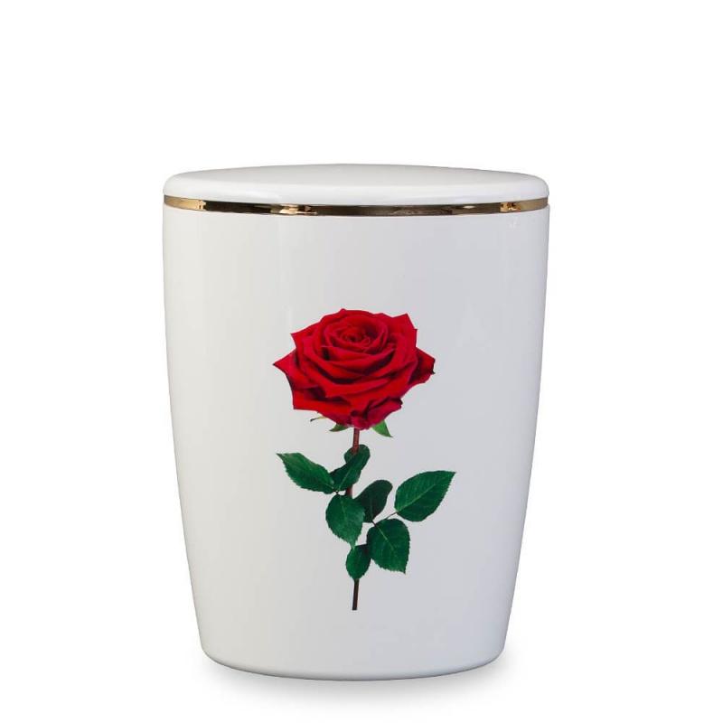 edle ko berurne mit rose aus naturstoff. Black Bedroom Furniture Sets. Home Design Ideas