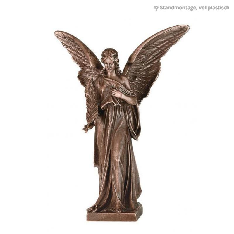 gro e engel skulptur angelo maestoso. Black Bedroom Furniture Sets. Home Design Ideas