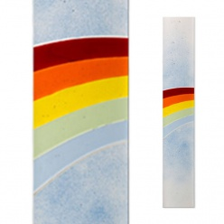 Grabornamente motiv regenbogen for Bunte lampenschirme aus glas