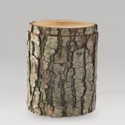 Holz mit rinde