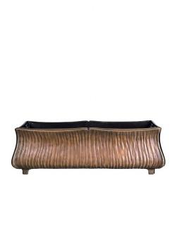 stilvolle pflanzschale tabita aus bronze. Black Bedroom Furniture Sets. Home Design Ideas