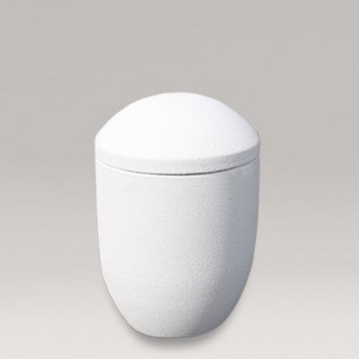 keramikurne in wei cesana. Black Bedroom Furniture Sets. Home Design Ideas