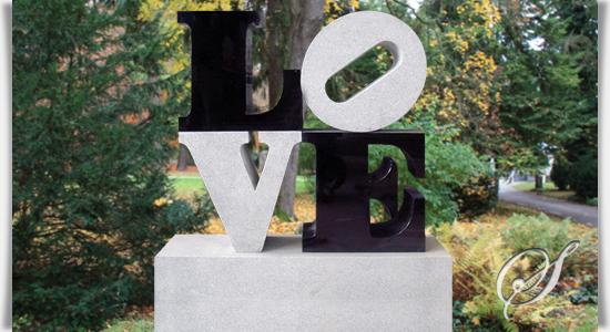 grabstein love design. Black Bedroom Furniture Sets. Home Design Ideas
