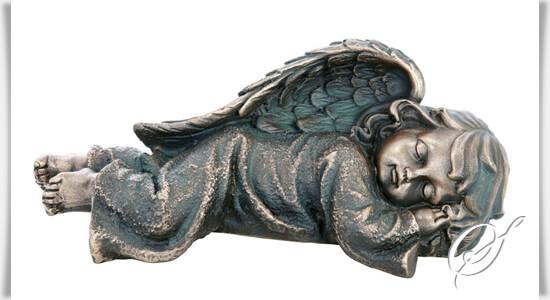 liegender engel grab skulptur angelo infante. Black Bedroom Furniture Sets. Home Design Ideas
