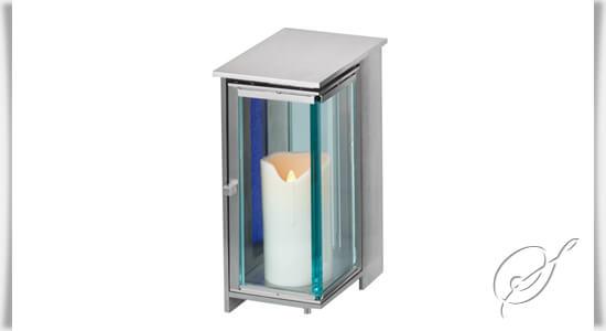 Modernes Edelstahl Grablicht Pipino kaufen • Serafinum