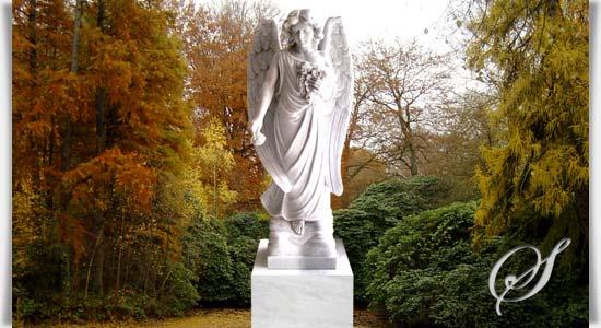 grabengel aus marmor - saranda • serafinum.de, Innenarchitektur ideen