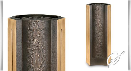 bronze grabvase florifera modern. Black Bedroom Furniture Sets. Home Design Ideas
