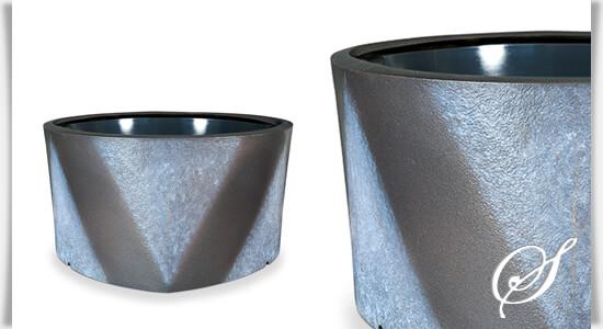 grabschale yama schwarz aus bronze. Black Bedroom Furniture Sets. Home Design Ideas