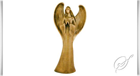 moderne engelfigur angelo moderna bronze. Black Bedroom Furniture Sets. Home Design Ideas