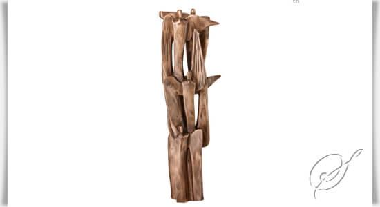 engel skulptur bronze 6 engel komposition. Black Bedroom Furniture Sets. Home Design Ideas