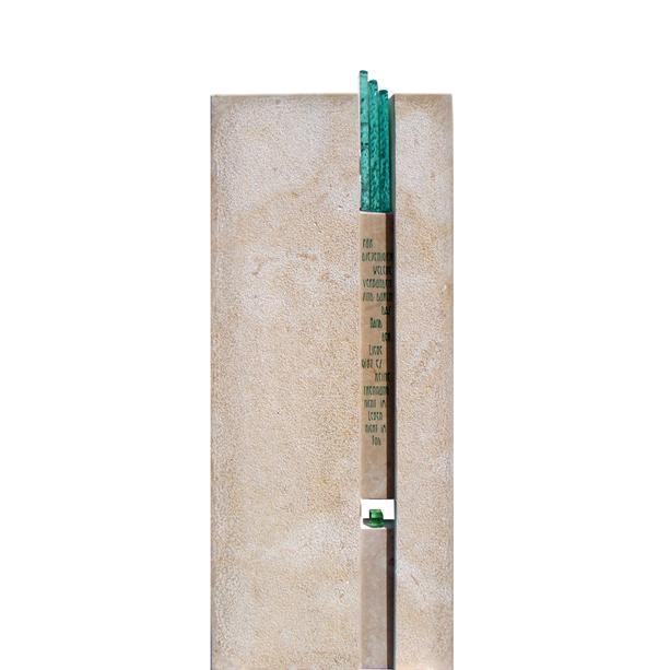 Kleiner urnengrab grabstein vasari for Moderne bilder glas