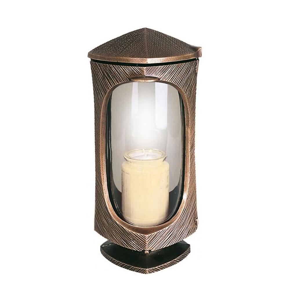 kunstvolle bronze grablaterne luna online kaufen. Black Bedroom Furniture Sets. Home Design Ideas