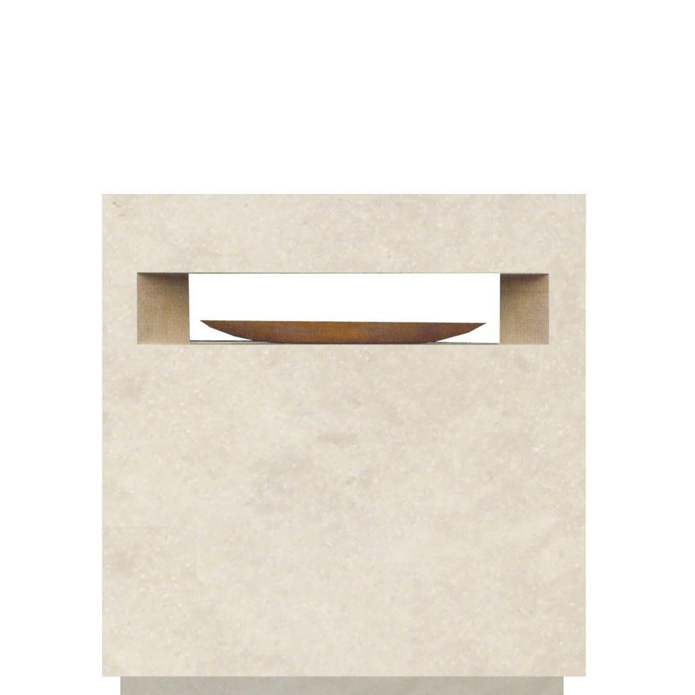grabmal quadra mit holz. Black Bedroom Furniture Sets. Home Design Ideas