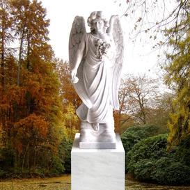 Stilvoller Marmor Engel für Einzelgrab - Saranda