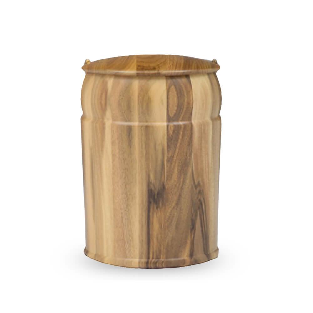 Holz Urne Nussbaum - Castro • Gartentraum.de