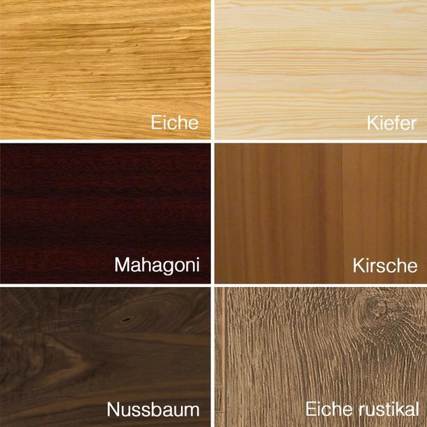 Mahagoni holz farbe  Holz Urne Mahagoni - Dara • Serafinum.de