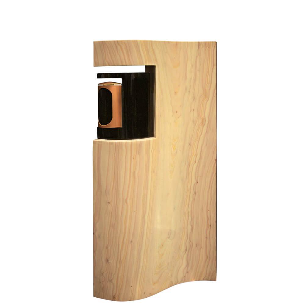 grabstein f r familiengrab mit grablampe. Black Bedroom Furniture Sets. Home Design Ideas