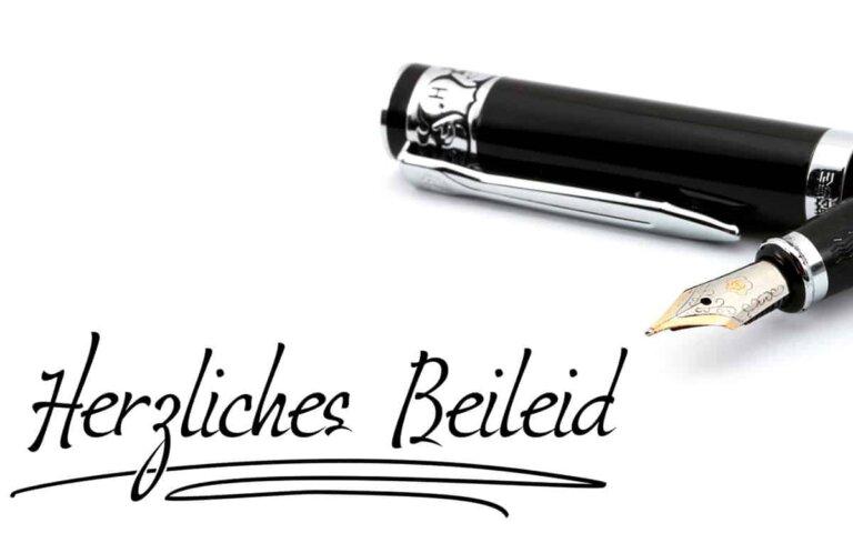 Karte oder Brief: Eine Kondolenz richtig schreiben! Hilfreiche Tipps