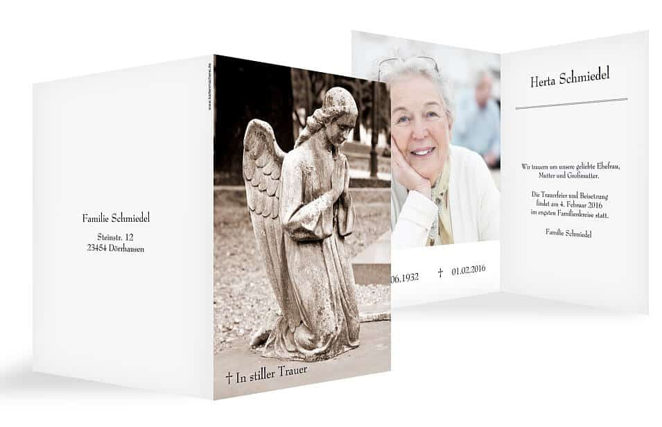 trauerkarten richtig schreiben: beispiele & textvorschläge, Einladung