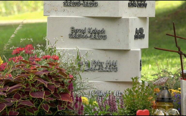 """Video: Moderne Urnenstele """"Anemoi"""" für Gemeinschaftsgrab"""