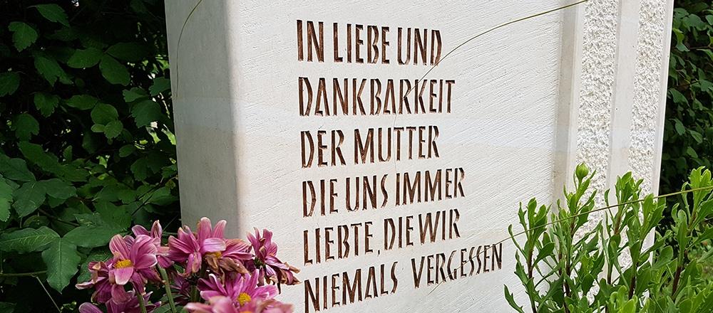 grabstein_inschrift_spruch_liebe_mutter