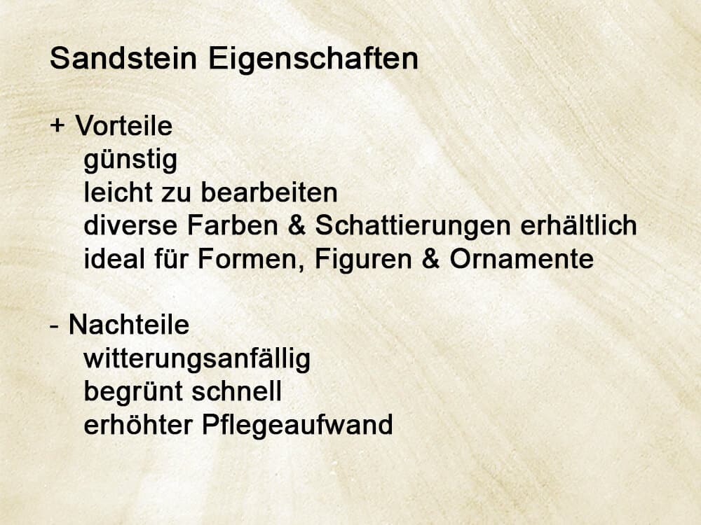 eigenschaften_vorteile_nachteile_sandstein_grabstein
