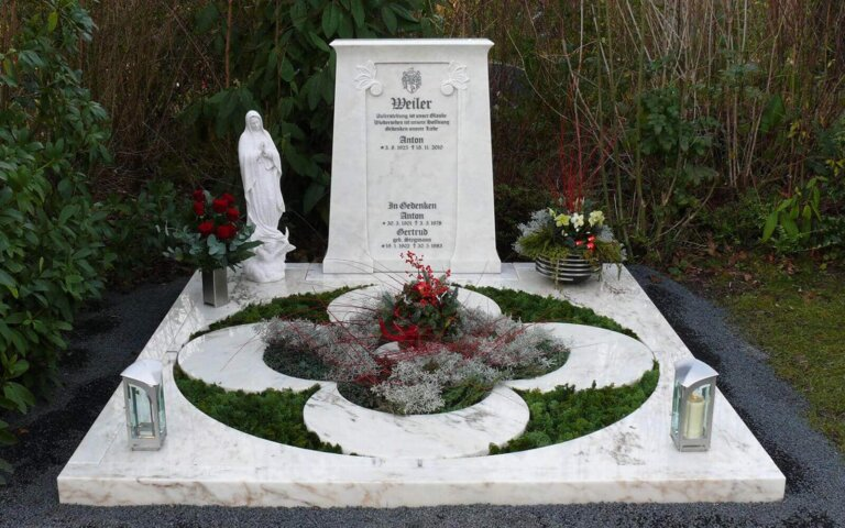 Grabplatten – Steine für die Ewigkeit
