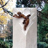 Kindergrabstein_Sandstein