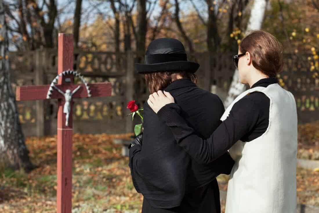 Friedhof als Ort zum gemeinsamen Trauern