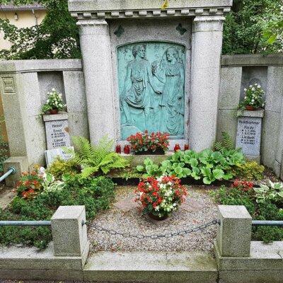 Doppelgrab Grabgestaltung