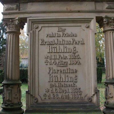 Grab Inschrift