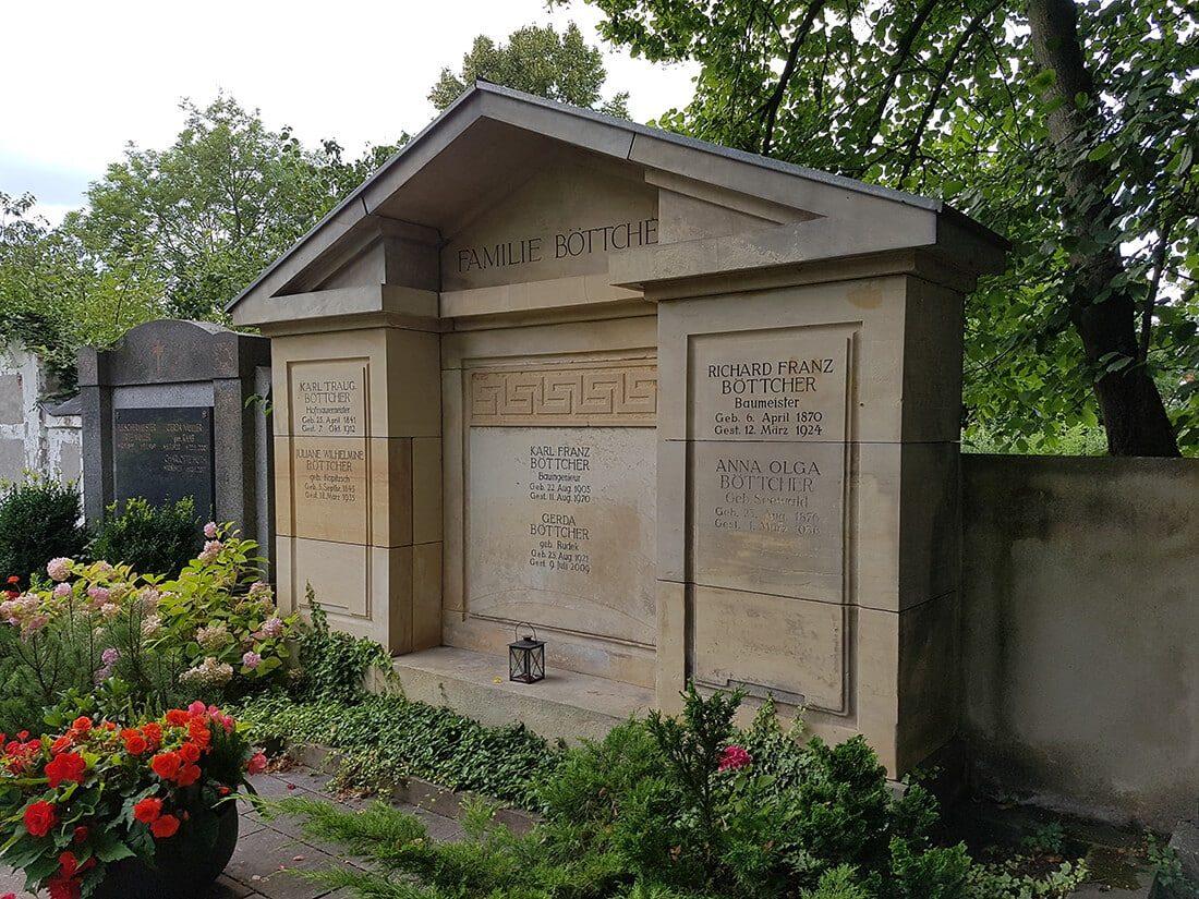 Familiengrab mit langer Tradition