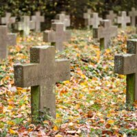 Soldatengräber Urne