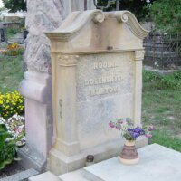 Antikes Grabmahl Grabstein