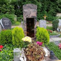 verschiedene Arten der Grabgestaltung