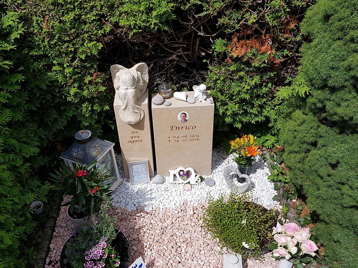 Grabgestaltung Pflegeleicht Für Einzel Doppelgrab 25 Beispiele