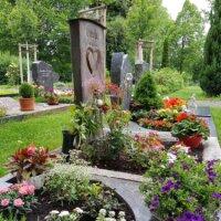 Die Grabgestaltung basiert auf unterschiedlichen Geschmäckern