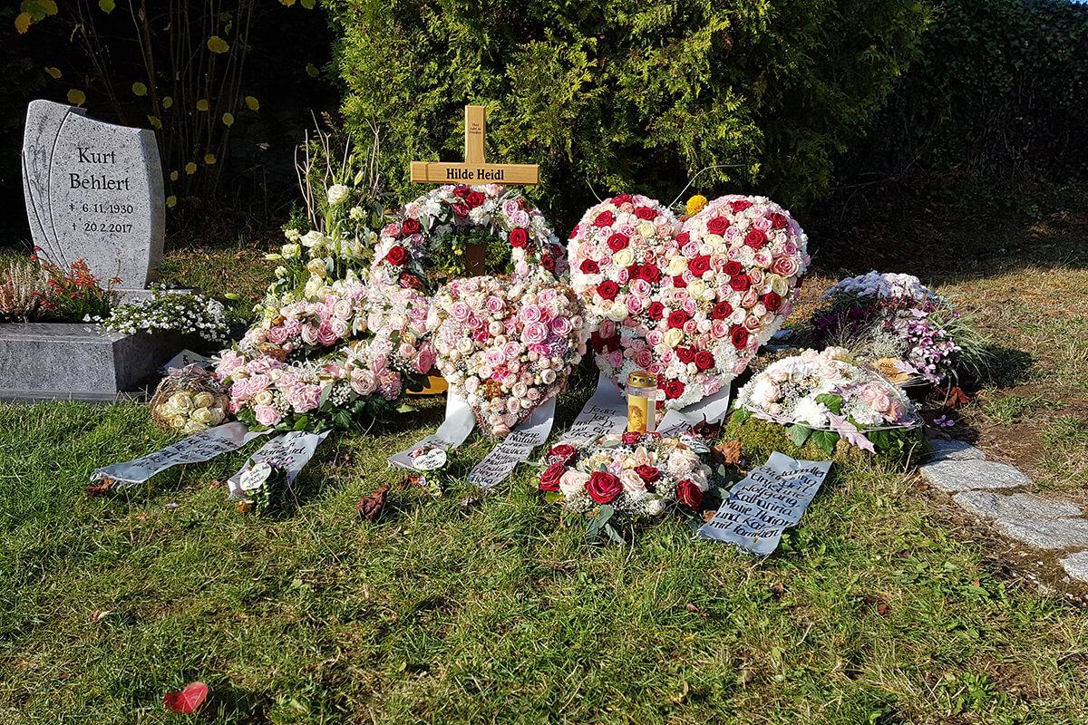 Trauerrede am Grab halten