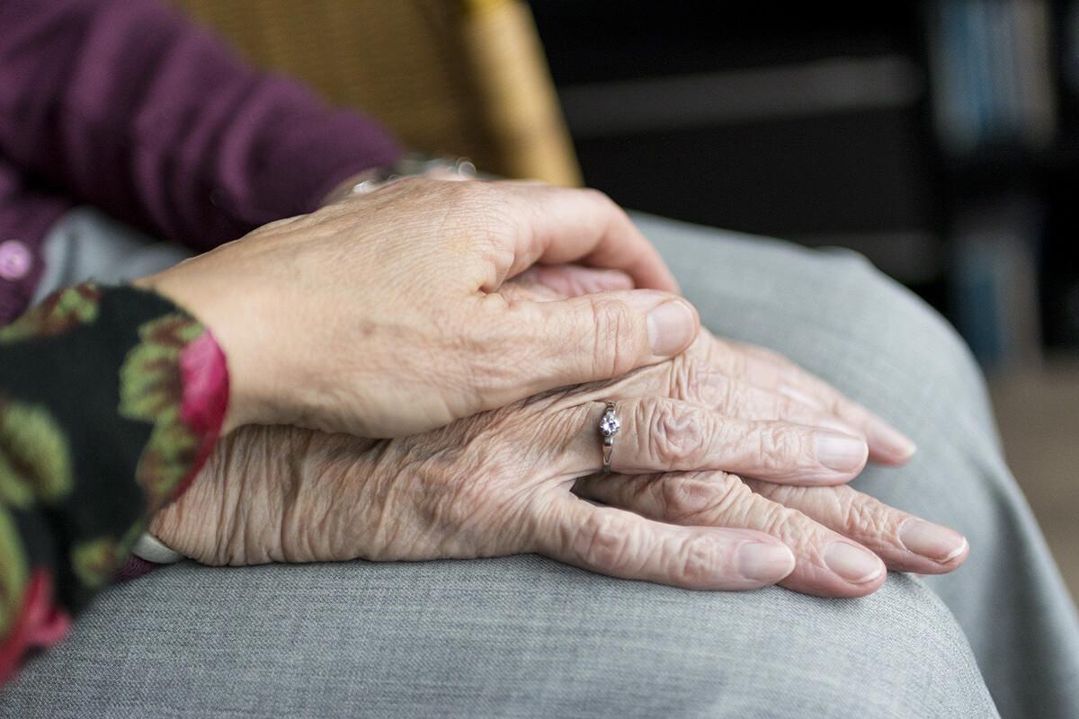 Trauerbilder für Oma und Opa