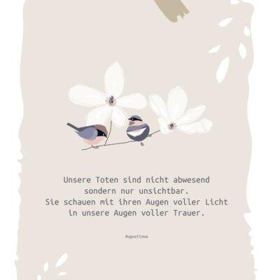 Trauerbild unsichtbar